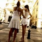 Las chicas de blanco