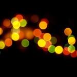 La navidad está llena de bokeh