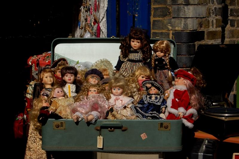 Muñecas que dan miedo