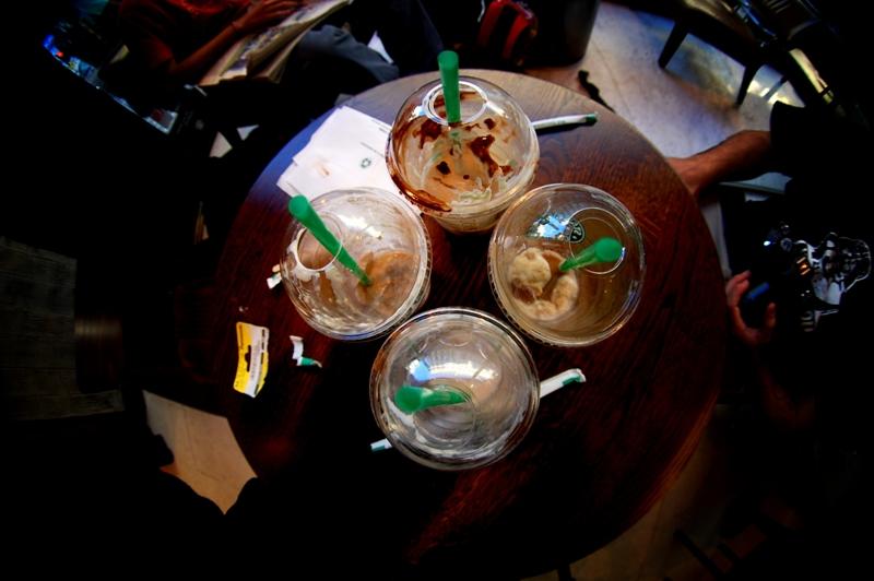 Nos encanta el Starbucks