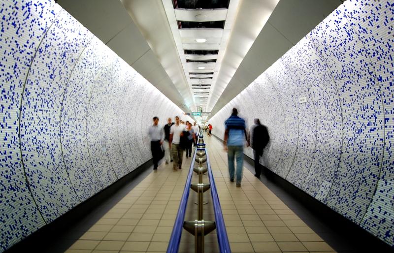Túneles del metro