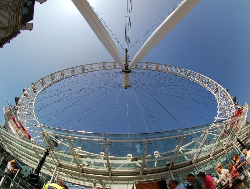 London Eye desde el peleng