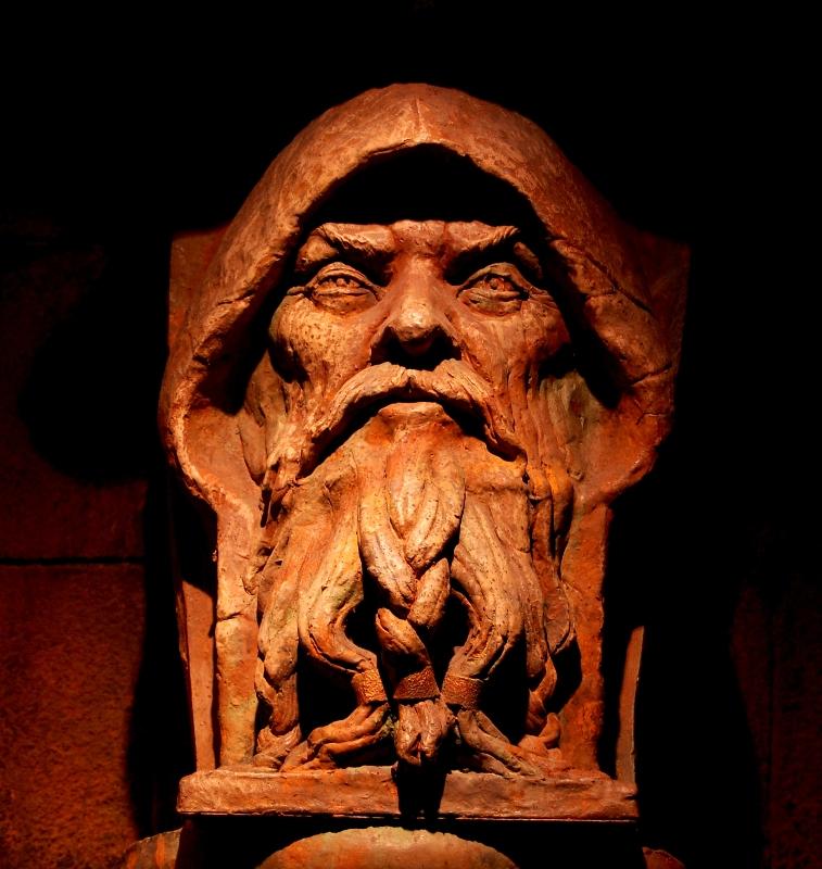 Rostro de madera