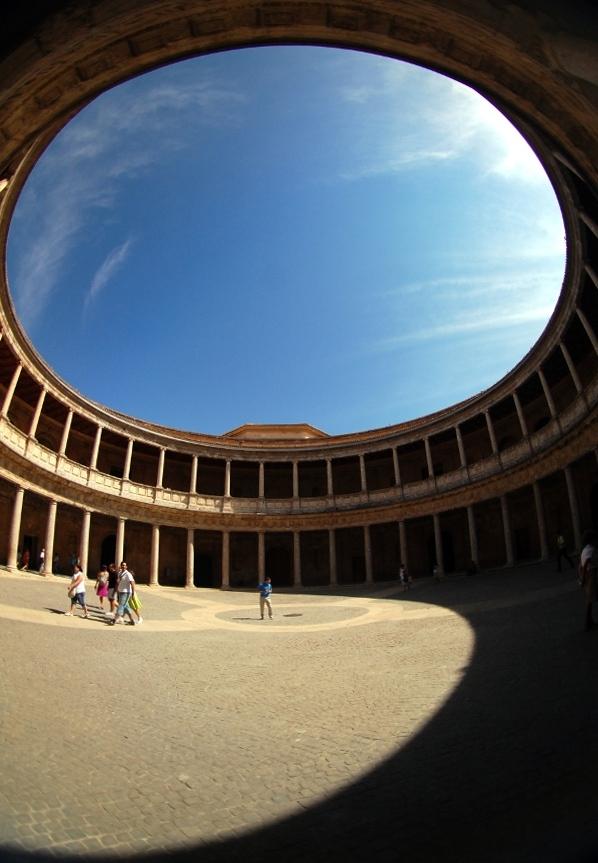 Palacio de Carlos V visto de otra manera