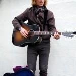 Músico en Portobello Road