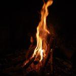 El calor del fuego