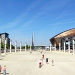 Cardiff: Roald Dahl Plass and Wales Millennium Centre