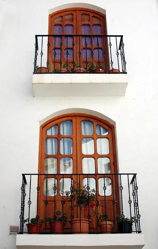 Balcones en Lanjarón