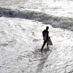En invierno también se surfea