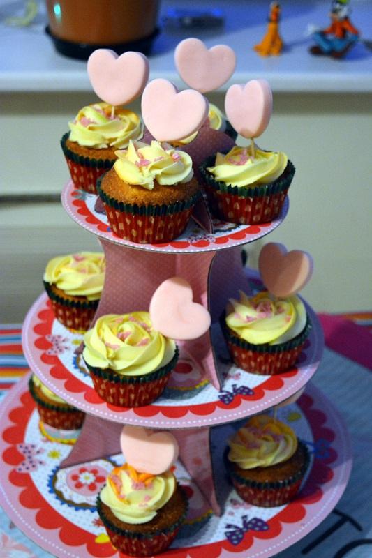 Cupcakes para enamorados