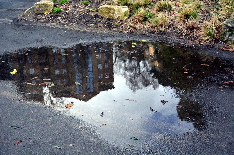 Reflejos después de la lluvia