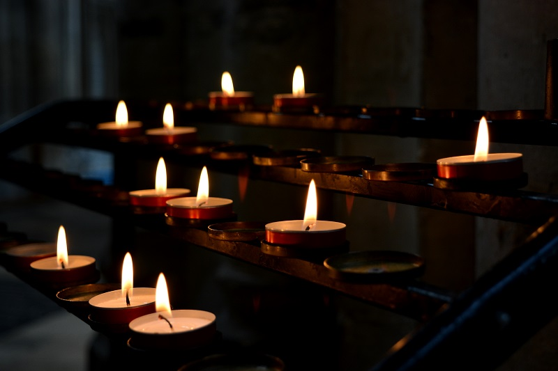 Calma en la catedral de Winchester