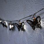 Mariposas iluminadas