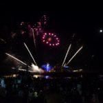 Fuegos artificiales en el cielo de Bournemouth II