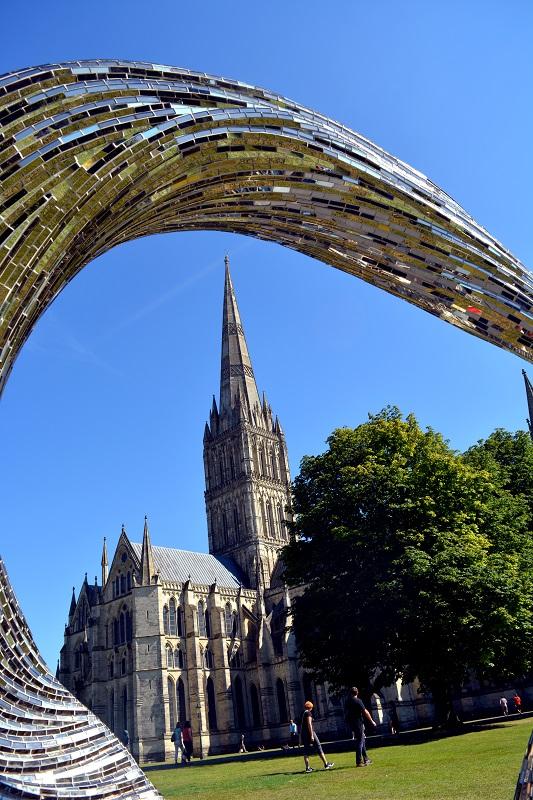 Catedral de Salisbury bajo otro punto de vista