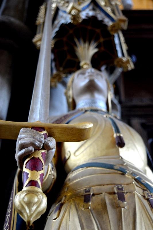 Juana de Arco en la catedral de Winchester