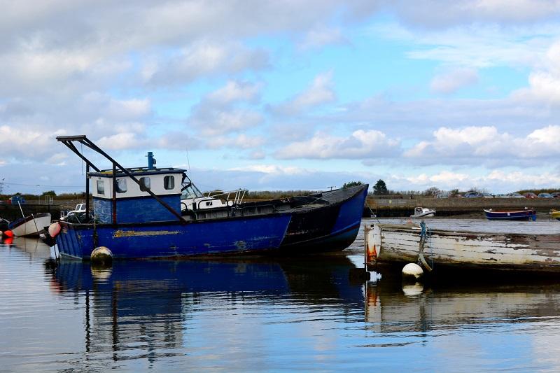 El barco azul