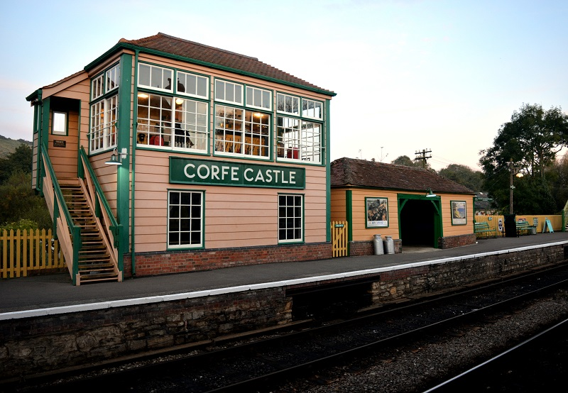 Estación de Corfe Castle