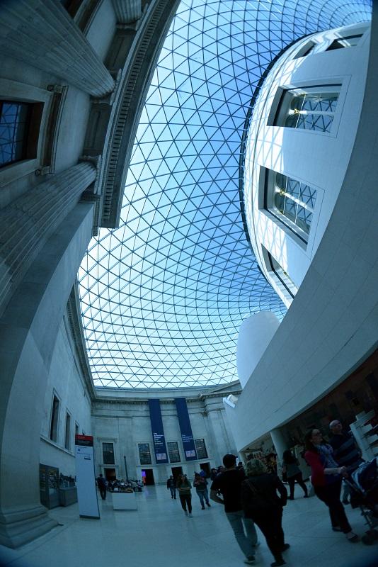 British Museum a través del ojo de pez
